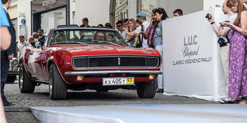 Экипаж Chevrolet Сamaro 1967 года занял 5-e место в абсолютном зачете ралли L.U.C Chopard Classic Weekend Rally